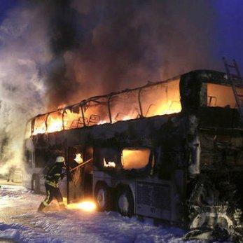В Германии сгорел автобус, в котором белорусские туристы ехали из Испании (Комментарий турфирмы «Интерлюкс тур»)