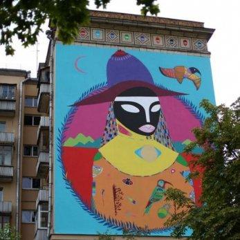 Новые граффити в Минске. Чем порадовал белорусско-бразильский фестиваль VULICA BRASIL  в этом году?