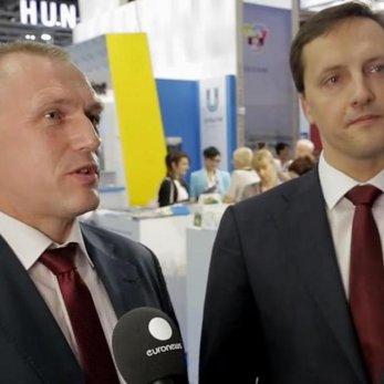 Что сказал Михаил Портной на Лондонской выставке в интервью Euronews