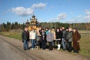 Сотрудники музея истории ВОВ на экскурсии в Дудутках (+фото)