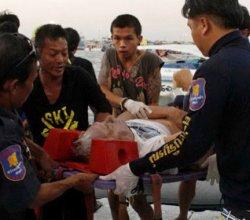 В Таиланде затонул паром с туристами