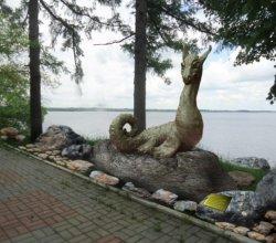 9 ноября в Лепеле торжественно откроется скульптура Цмока