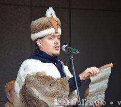 День святого Губерта в Гродно: рыцари сразились под стенами замков, а собаки вышли на подиум (+фото)