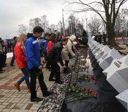 После реконструкции в Московском районе столицы торжественно открыт мемориал защитникам Минска