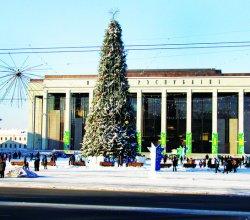 К Новому году Минск украсят в стиле чемпионата мира по хоккею