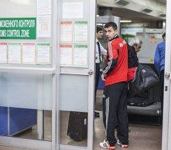 Два игрока сборной Беларуси по футболу с первого раза не прошли паспортный контроль