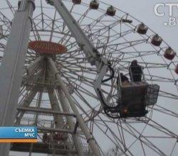Масштабные учения среди бойцов МЧС прошли 13 ноября в минском парке Горького