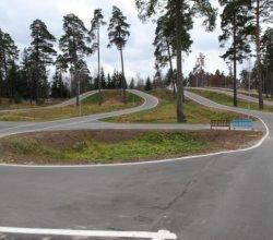 Вторая очередь лыжероллерной трассы в Новополоцке введена в строй в рамках трансграничного сотрудничества
