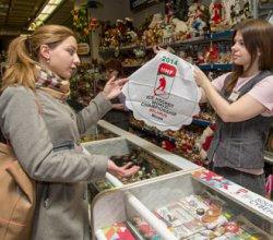 Продажа большинства белорусских сувениров с символикой хоккейного чемпионата мира-2014 будет приостановлена 9 февраля