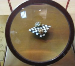 В «Доме-музее I съезда РСДРП» начала работать выставка микроминиатюр «Диво под микроскопом»