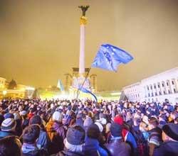 Белорусские фирмы пока не видят необходимости отменять туры выходного дня в охваченную протестами украинскую столицу