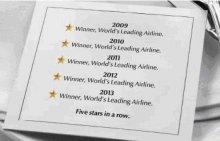 Etihad Airways в пятый раз стала лучшей авиакомпанией в мире!
