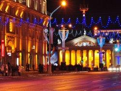 Праздничную иллюминацию в Минске включат в канун католического Рождества