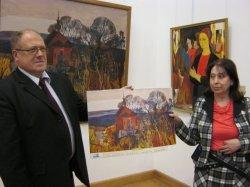 Художественный музей презентовал календари на 2014 год с репродукциями картин белорусских классиков