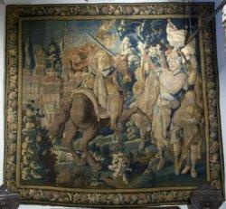 Шпалера «Александр Великий» пополнила коллекцию Мирского замка