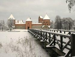 В литовском Тракае открыта резиденция Деда Мороза