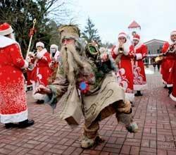 Поместье Деда Мороза в Беловежской пуще стало самым популярным белорусским туристическим брендом