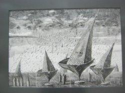 В Художественной галерее Михаила Савицкого открылась выставка «Линия и форма»