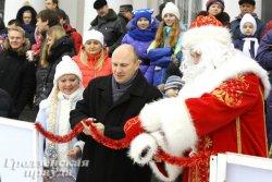 До середины января каток на Советской площади Гродно будет работать в тестовом режиме