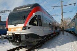 Первый пятивагонный швейцарский электропоезд поступил для Белорусской железной дороги