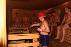 """В """"Стайках"""" прошли республиканские соревнования по спортивной сауне и парению веником"""