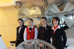 В Национальном аэропорту «Минск» состоялась встреча руководства аэропорта с представителями авиакомпаний и организаций-партнеров