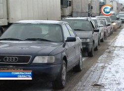 Проблемы на белорусско-украинской границе: в очереди стоят более 300 легковушек