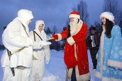 """Необычных """"нарушителей"""" задержали накануне Нового года полоцкие пограничники на севере Беларуси"""
