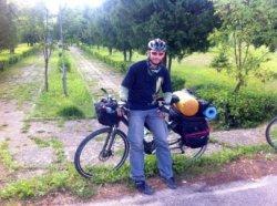 30-летний сморгонец в одиночку совершил велопробег из Сморгони до Черного моря