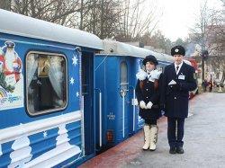 Более 11 тыс. минчан и гостей столицы стали пассажирами «Новогоднего экспресса», курсирующего по Детской железной дороге
