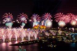 Новогодний фейерверк в Дубае внесен в Книгу рекордов Гиннесса