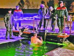 На Крещение вблизи спасательных станций Минской городской организации ОСВОД оборудуют места для купания (карта)