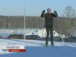 22 января начала работать городская лыжероллерная трасса в Веснянке