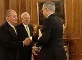 Павел Латушко вручил верительные грамоты королю Испании