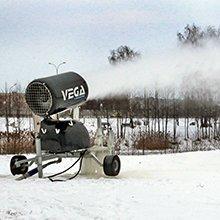 Искусственный снег на Гребном начал приносить прибыль