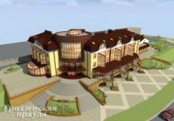 На улице Суворова в Гродно построят центр автосервиса с мотелем