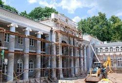 Реставрацию Жиличского дворцово-паркового ансамбля планируют завершить к 2018 году