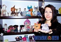 Трех Татьян из Витебска объединило ремесло по созданию оригинальных сувениров