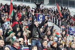 Матчи ЧМ-2014 по хоккею в Минске будут транслироваться на больших экранах в фан-зонах