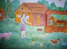 Стартовал конкурс детского рисунка «Адпачынак у вёсцы»