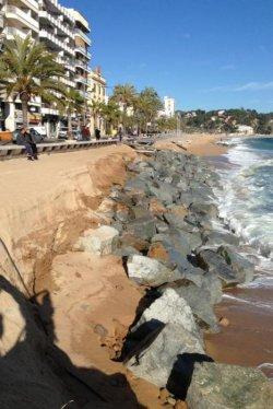 Ольга Улевич: нет больше пляжа в Ллорет де Мар!