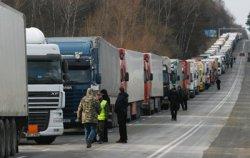 Украинские митингующие пытаются блокировать пункты пропуска на польской границе