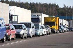 Очереди на белорусско-литовской границе идут на спад