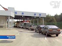 Белорусские погранпереходы на границе с Украиной работают в штатном режиме