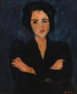 Минчанам впервые покажут приобретенную на Sotheby's картину Сутина «Ева»