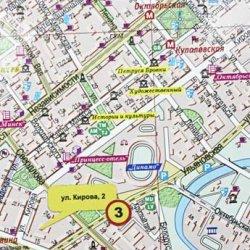 Ну и ну! Карта на столичном вокзале отправляет туристов по несуществующим адресам