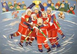 Гости ЧМ-2014 смогут приобрести памятные открытки с детскими рисунками о хоккее