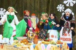Проводить зиму в Пышки пришли около ста тысяч гродненцев