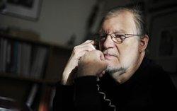 Литовский актер Юозас Будрайтис представил в Витебске фотовыставку «Мое кино»