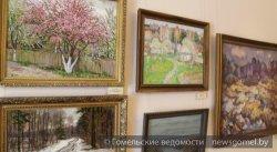 Выставка «Предчувствие весны» открылась в Гомеле